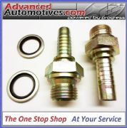 "Mocal Oil Cooler Hose Fittings Unions 1/2 BSP Male 1/2"" Bore Hose HEM3-8"